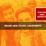 Brand New Studio Apartments Available 1st of September 2020